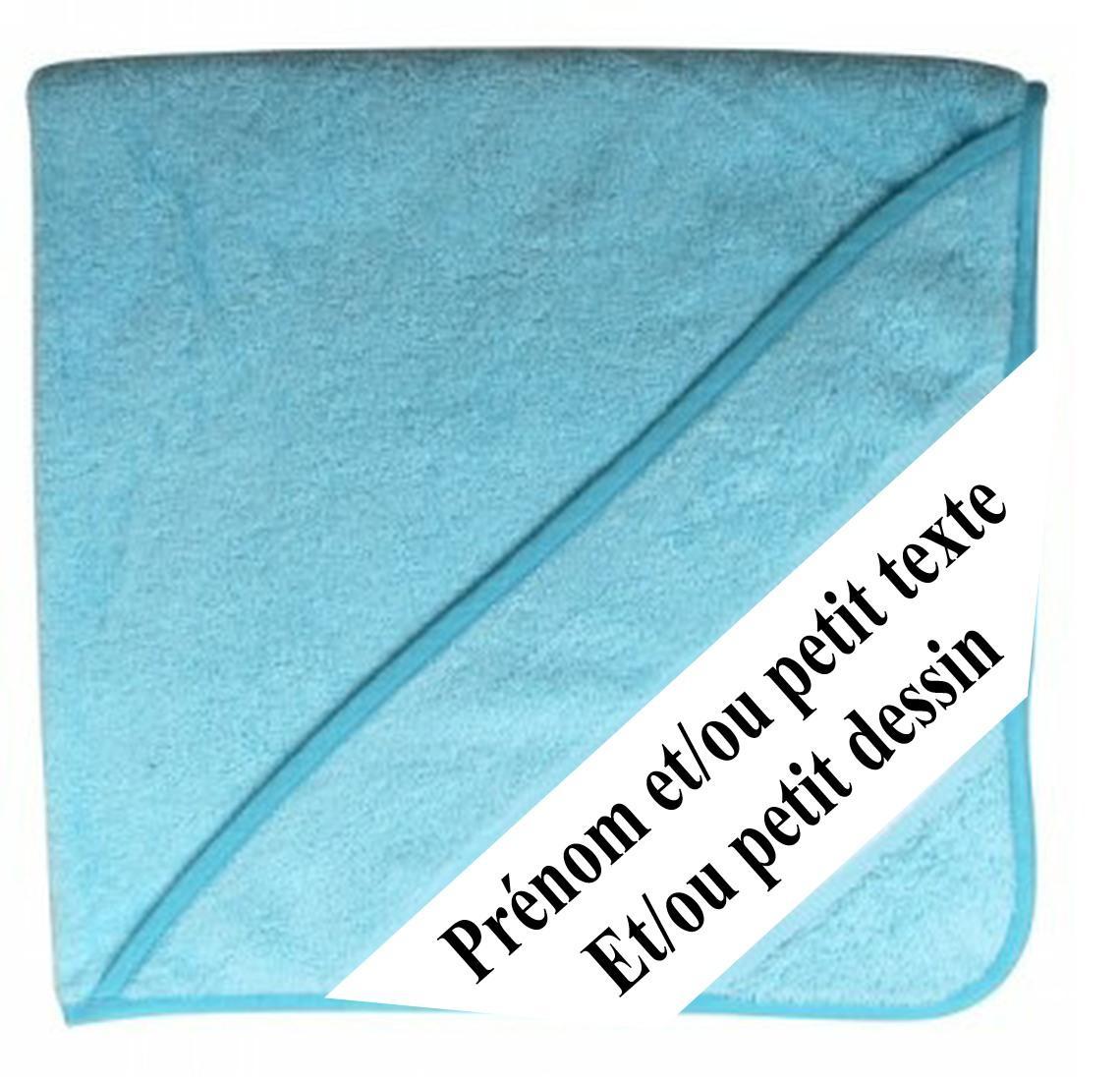 Cape de bain bleu