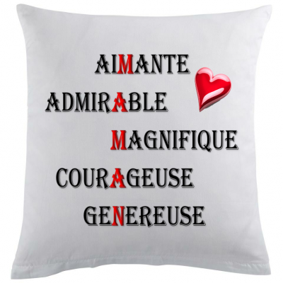 Coussin m a m a n