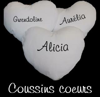 Coussins coeur