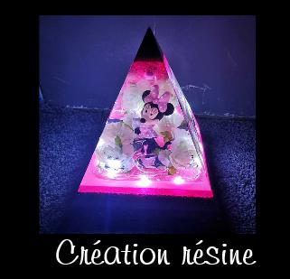 Lampe pyramide